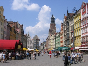 The beautiful city of Wroclaw, where Nintendo isn't welcome