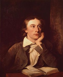 Look at him all smug and pretentiously muse-ful. Damn you John Keats you ruined my teenage years