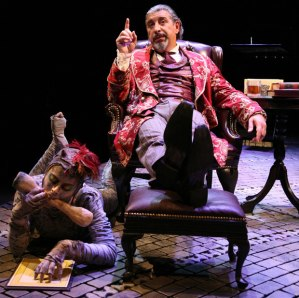 A stage depiction of Screwtape